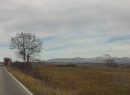 L'Altopiano delle Rocche: una suggestiva panoramica nel parco regionale del Sirente-Velino.