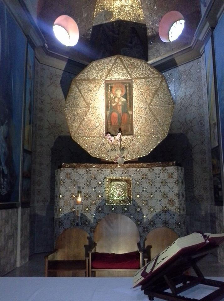 L'Icona bizantina della Madonna scampata all'iconoclastia degli imperatori romani orientali