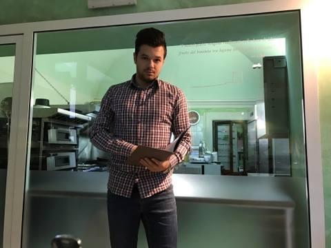 Il giovane imprenditore di Capestrano Augusto Di Fiore