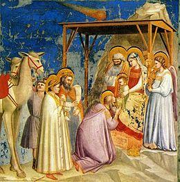 I Re Magi alla Capanna di Betlemme (Wikipedia)