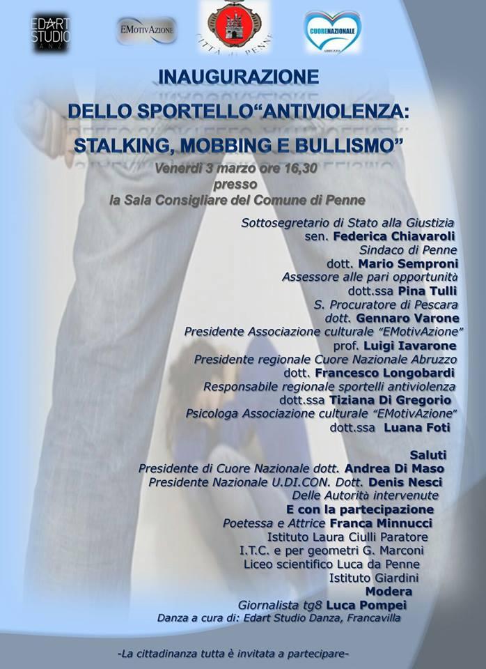 Inaugurazione Sportello Antiviolenza Penne