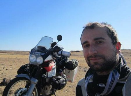 Intervista a Massimiliano Perrella: «Attraverso il mondo con la mia moto»