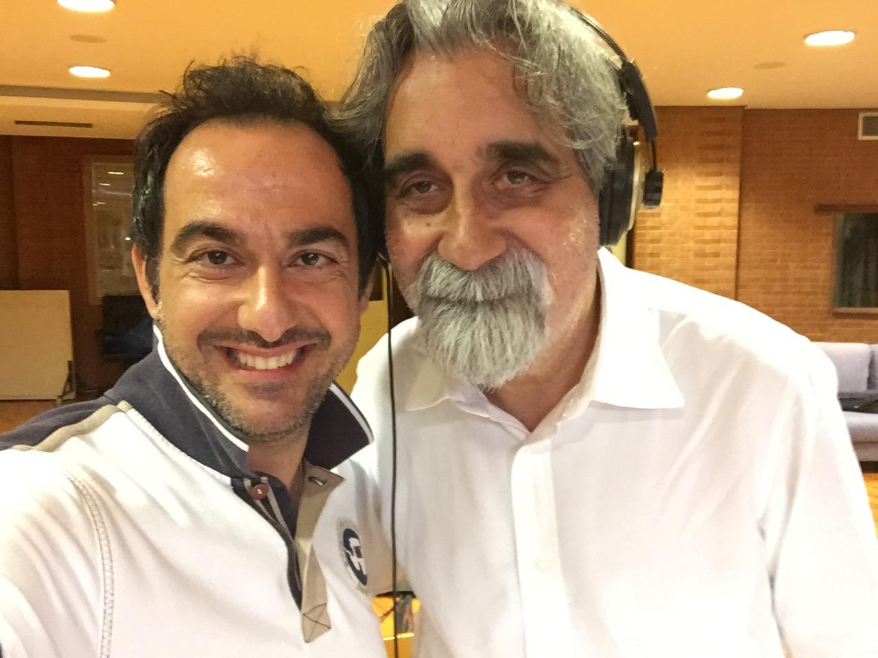 Piero Mazzocchetti e Beppe Vessicchio