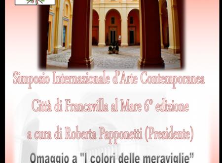 Francavilla al M.: VI Edizione Simposio Arte Contemporana al Museo Michetti (Mumi)
