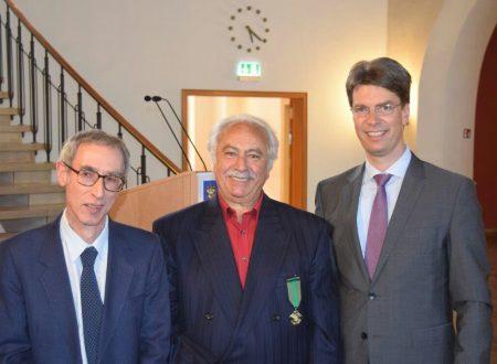 """Enzo Iacovozzi, """"ambasciatore"""" dell'Abruzzo e dell'Italia all'estero, nominato """"Cavaliere"""" con l' """"Ordine al Merito"""" della Repubblica Italiana"""