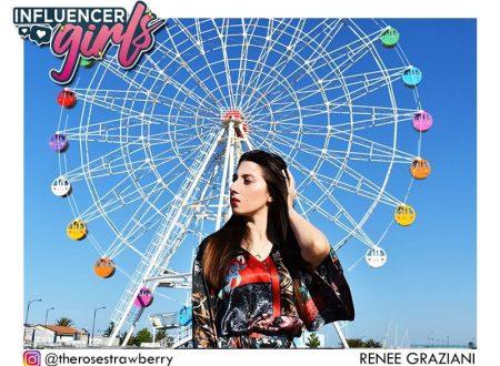 """Giulianova (Te): Renée Graziani parteciperà al programma """"Influencer Girls"""" della """"Fashion TV"""""""