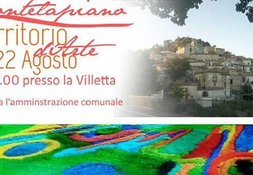 """Montelapiano (Ch): al via il 21 – 22 agosto """"Montelapiano d'Arte"""""""