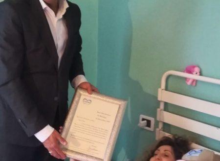 Cuore Nazionale Abruzzo, consegnata una speciale onorificenza a Debora