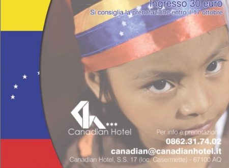 L'Aquila, il 22 ottobre pranzo di beneficenza pro Venezuela