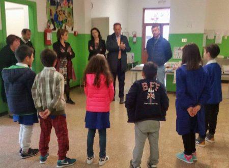Banco Scuola, consegnato il materiale didattico alla Scuola Primaria di Cerratina.