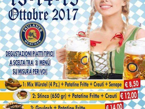 Alba Adriatica (Te): stasera e domani serate clou del XXVI Oktoberfest organizzato dalla Birreria Alpen Rose