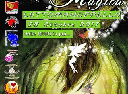 """Lettomanoppello (Pe): Sabato 28 ottobre """"La Notte Magica"""" per le vie del centro storico"""