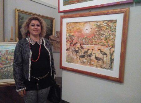La pittrice e scultrice Roberta Papponetti in mostra fino al 7 Novembre al Museo Barbella di Chieti