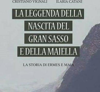 """Scafa (Pe): sabato presentazione del libro """"La Leggenda della Nascita del Gran Sasso e della Maiella"""" alla Biblioteca Comunale (h.17.00)"""