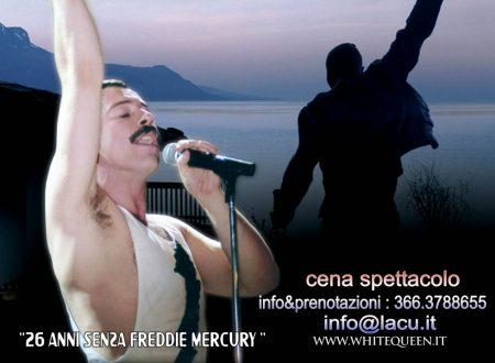 """Moscufo (Pe): domani al """"Notre Dame Club"""" spettacolo in onore di Freddie Mercury dei Queen"""