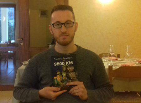 """Intervista a Giustino Travaglini, l'autore di Casoli (Ch) del romanzo di spionaggio """"9800 KM"""""""