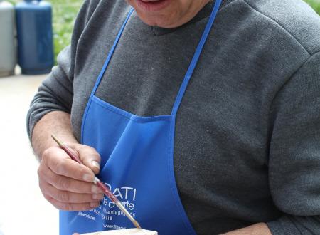 Intervista al Maestro  Giuseppe Liberati, della scuola ceramista di Rapino (Ch)