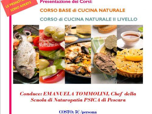 """Pescara: domani pomeriggio l' """"Aperitivo del Benessere"""" presso """"Psica"""" a cura della Chef Emanuela Tommolini"""