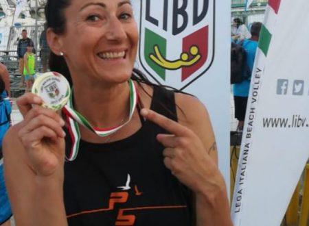 Chieti:  Cristiana Parenzan arriva alla Planet Beach