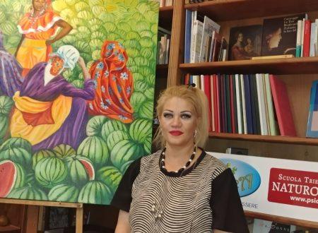 Intervista all'artista Mirta Maranca, ospite di Psica a Pescara