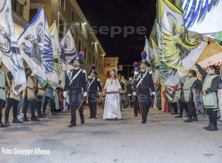 L'Aquila: chiusura Porta Santa e spettacolo dei Bandierai dei Quattro Quarti