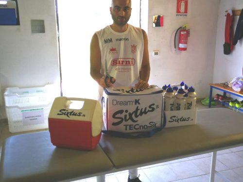 """Manolo Monopoli (Massaggiatore Sportivo della Vastese): """"la prevenzione viene prima di tutto"""""""