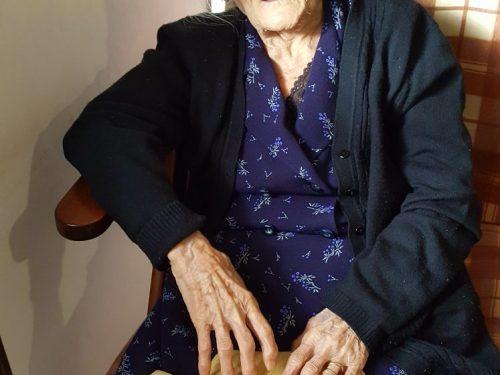 """Tocco da Casauria: scomparsa a 105 anni la pronipote del poeta Domenico Stromei detto """"ciabattino"""""""