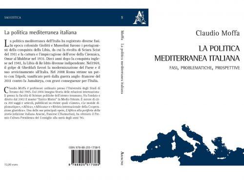 """Oggi presentazione a Roma del libro """"La Politica Mediterranea Italiana"""". Ospite anche il Presidente di Abruzzo Tourism Cristiano Vignali"""