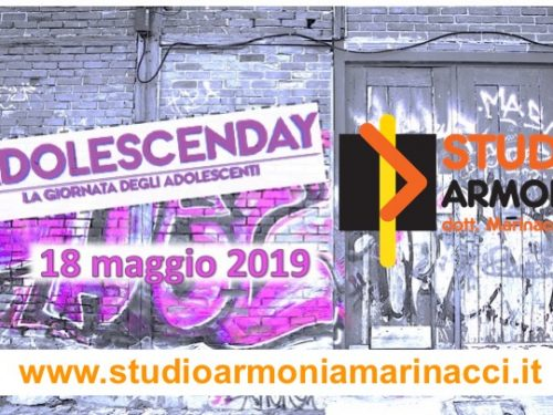Studioarmonia Marinacci apre le porte all'AdolescenDay 2019.