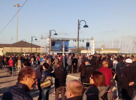 Eccessivo chiudere completamente il porto di Giulianova per il comizio di Salvini