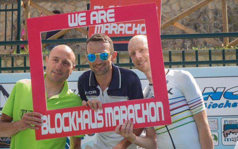 """I vincitori della """"Blockhaus Marathon"""""""