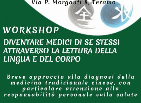 """Teramo: Psikè organizza il workshop """"diventare medici di se stessi attraverso la lettura della lingua e del corpo"""""""