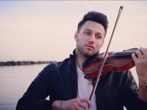 Valentino Alessandrini in concerto al chiostro del G.B. Vico di Chieti