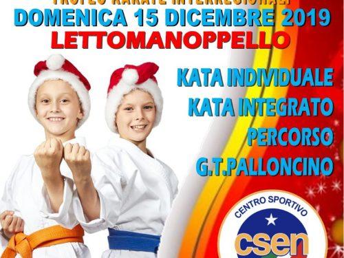 Lettomanoppello: domenica al via il Trofeo di Karate Integrato Csen