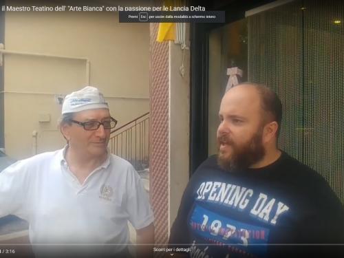 Maurizio D'Onofrio il maestro teatino dell'Arte Bianca appassionato di Lancia Delta