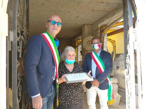 Lettomanoppello, riapertura della storica bottega del maestro scalpellino Gennaro D'Alfonso