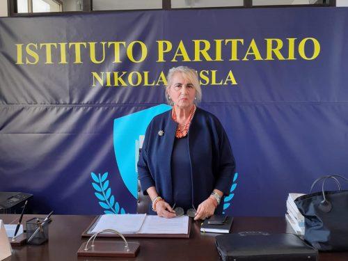 """Chieti, intervista a Silvana Ciampoli, dirigente scolastica degli Istituti """"Nikola Tesla"""""""