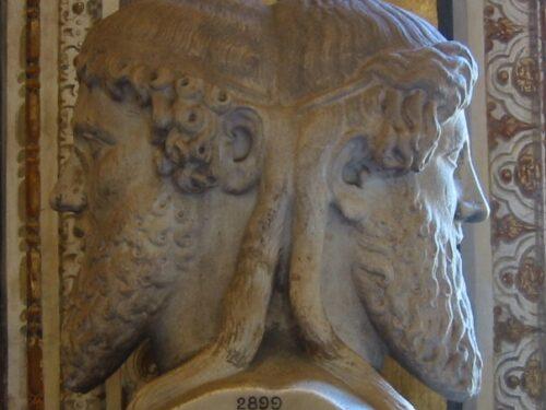 Giano Bifronte e il significato dei suoi volti